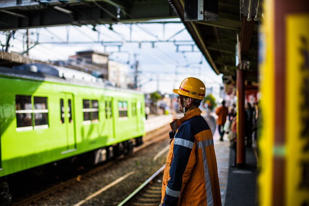 Photograph JR Rail Worker by Tim Grey on 500px