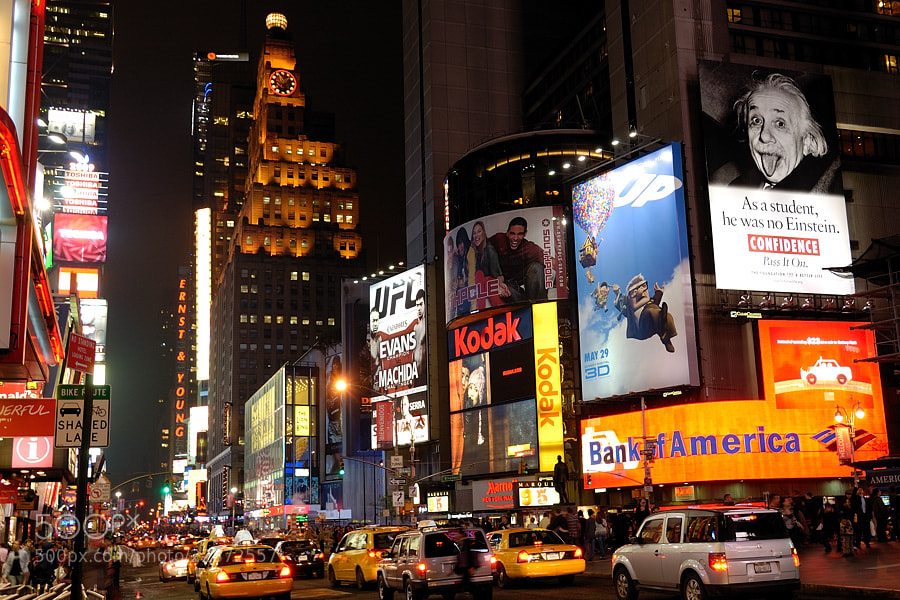 Photograph Times Square by Jimmy De Taeye on 500px