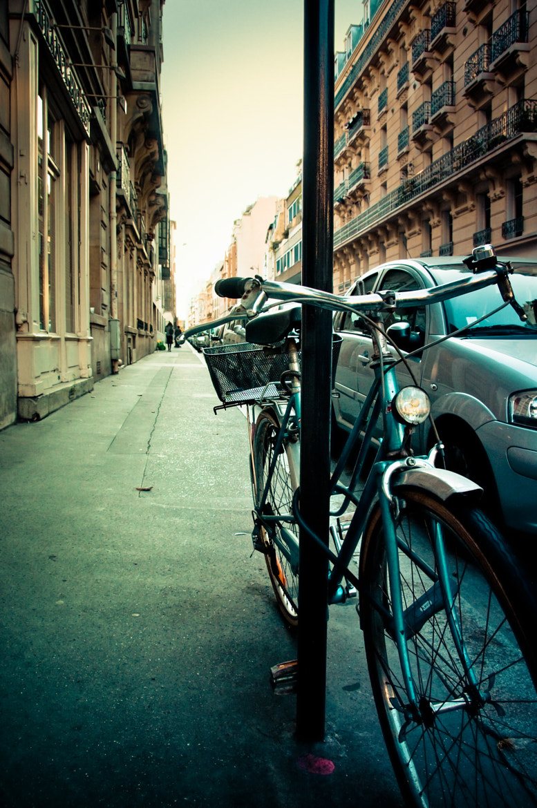 Photograph Parked Bicycle by Jason Waltman on 500px