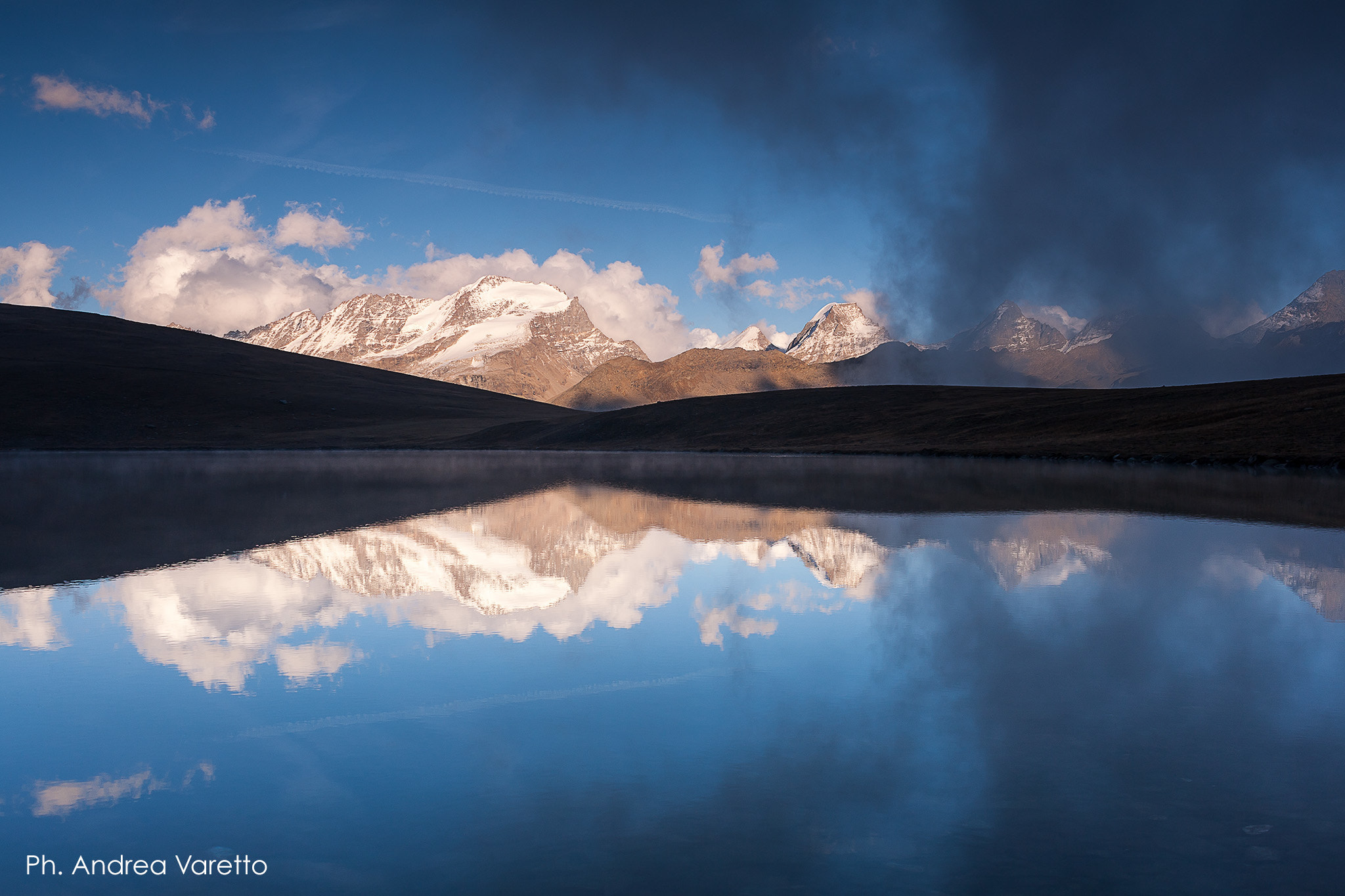 Photograph Gran Paradiso - reflections by Andrea Varetto on 500px