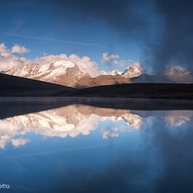 Gran Paradiso - reflections by Andrea Varetto (andreavaretto)) on 500px.com