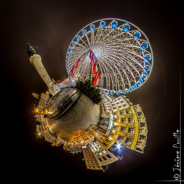 Photograph Lille-Unimation de la grande Roue by Jérôme Pouille on 500px