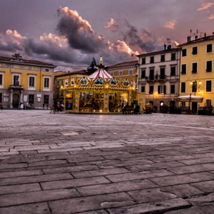 Sarzana La Piazza Italy