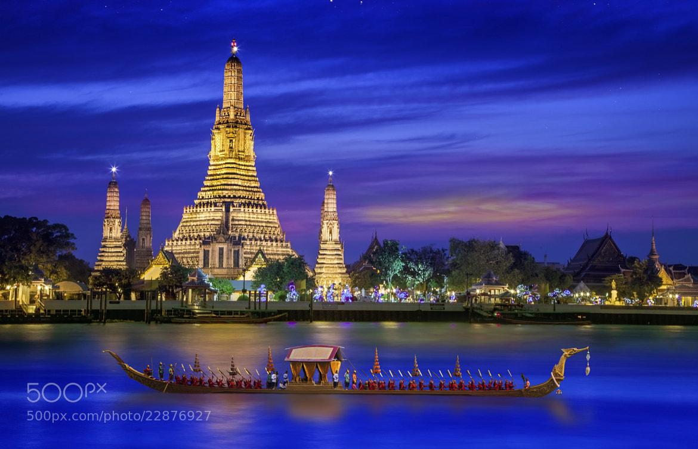 Photograph Wat arun by Anek S on 500px