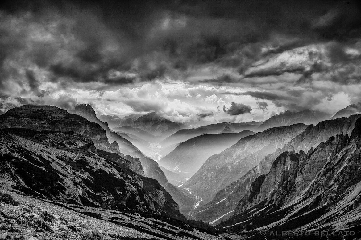 Photograph Stormy clouds by Alberto Bellato on 500px