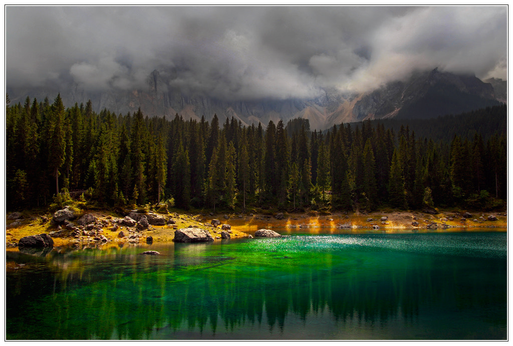 Photograph Emerald lake by Klaus Wiese on 500px