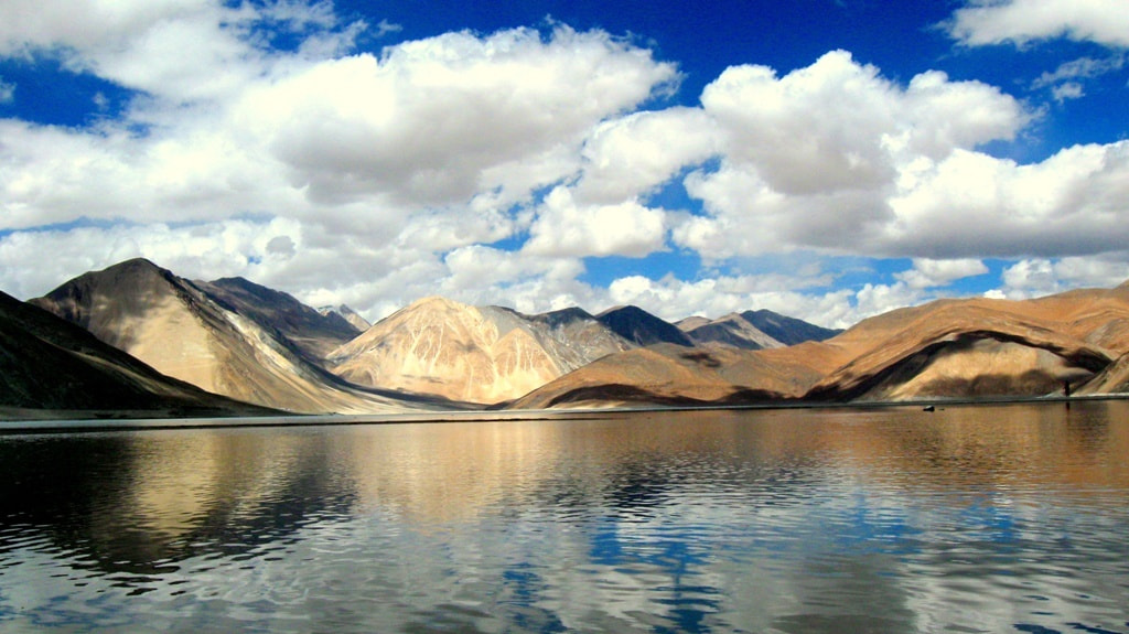 Photograph Pangong Lake (Leh Ladakh) by Ravi Prakash on 500px