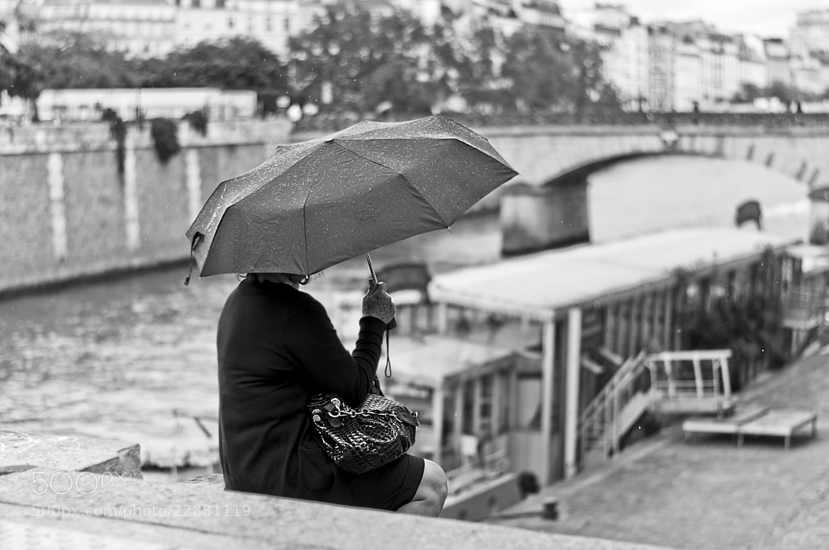 Photograph Rain in Paris by Paolo Bugnone on 500px