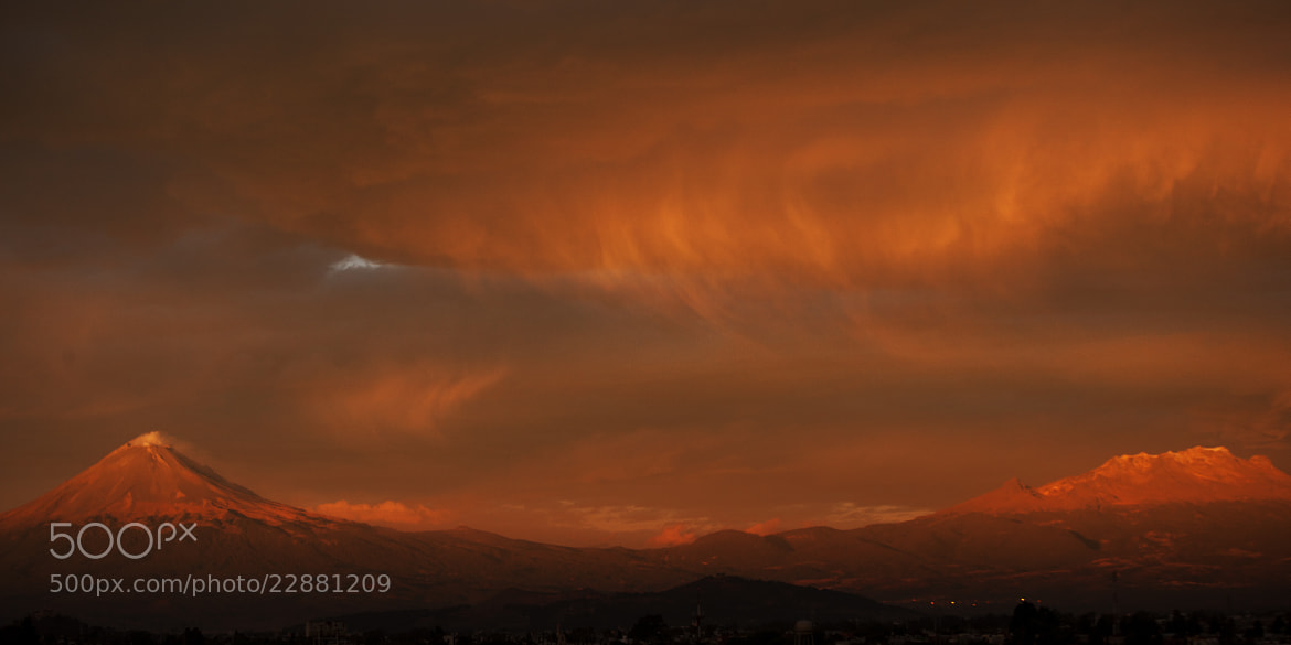 Photograph Volcanoes waiting for the sun by Cristobal Garciaferro Rubio on 500px