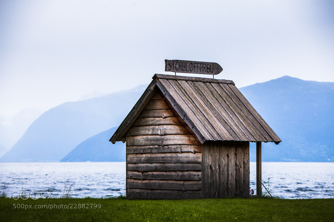 Photograph House at fjord by Axel Lauer on 500px