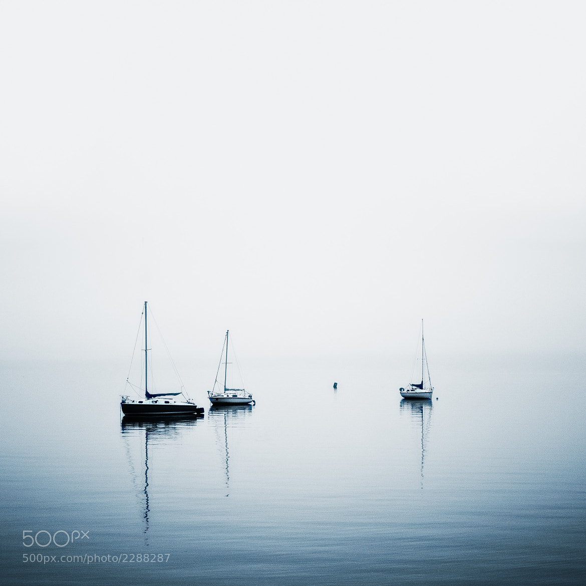 Photograph Foggy seaside by Thierry Hennet on 500px