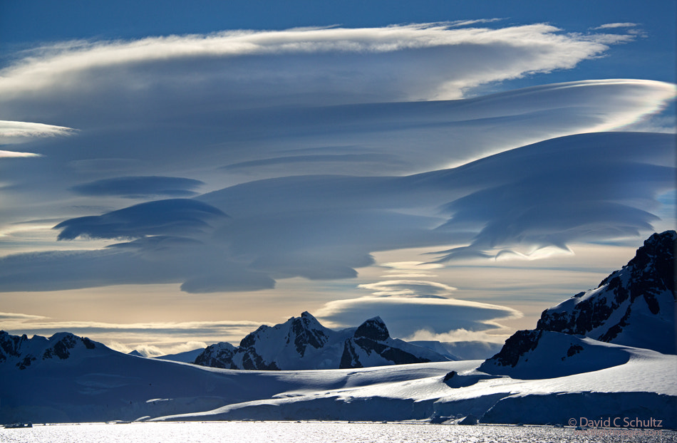 Photograph Lenticular Clouds, Antarctica by David C. Schultz on 500px