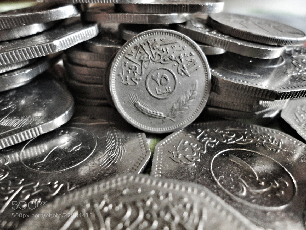Photograph Old Iraq Coins by NoNa Mohammed on 500px