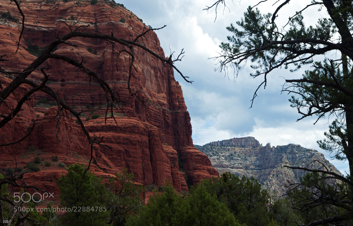 Photograph Sedona Cliff by M Bybee on 500px