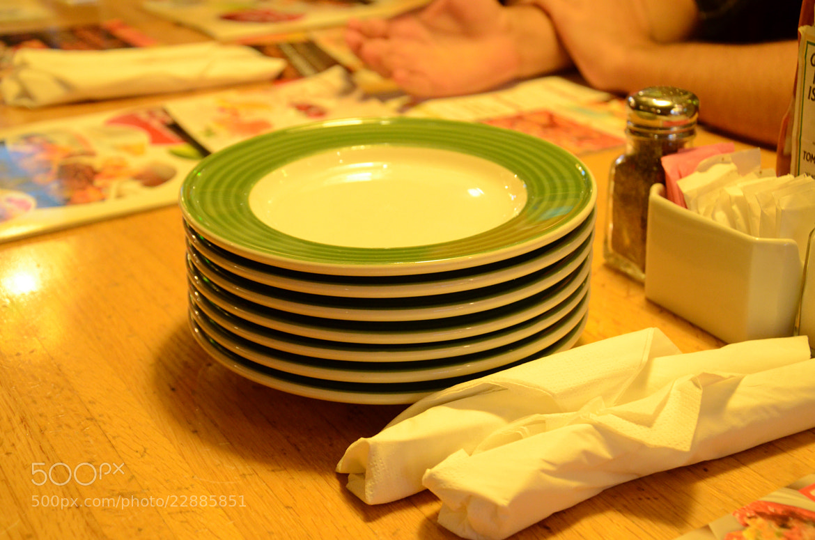 Photograph Empty plates waiting for serve by Kazi Mohammad  Ekram on 500px