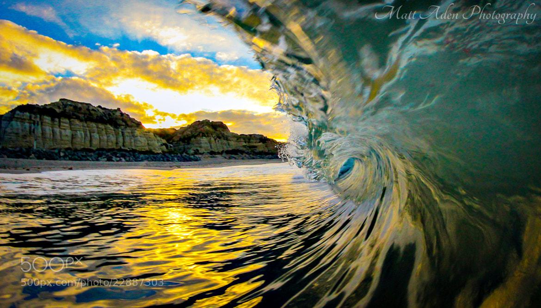 Photograph Sunrise Barrel by Matt Aden on 500px