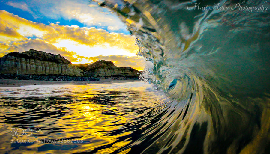 Photograph Sunrise Barrel by Matt Aden on 500px