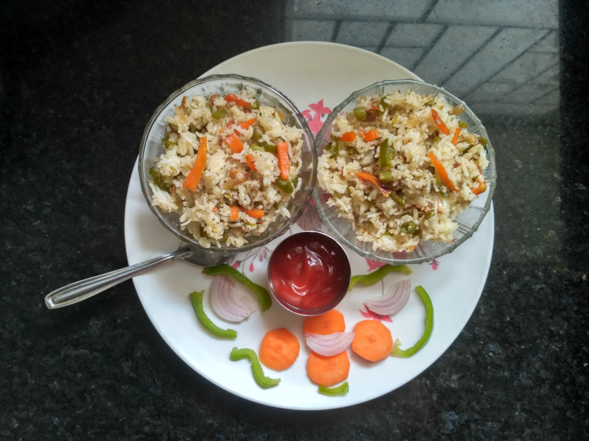 Fried rice by Santhanalakshmi S on 500px.com