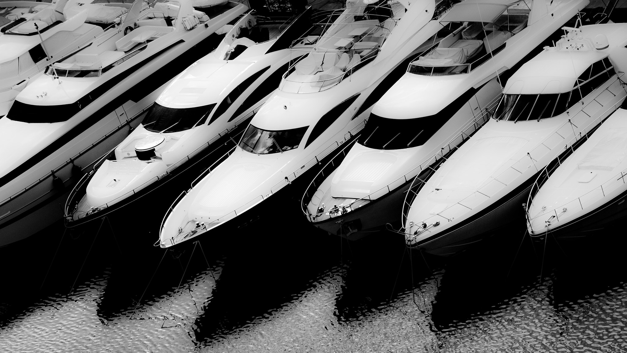 Photograph Shadow and boats by hakim belahouane on 500px