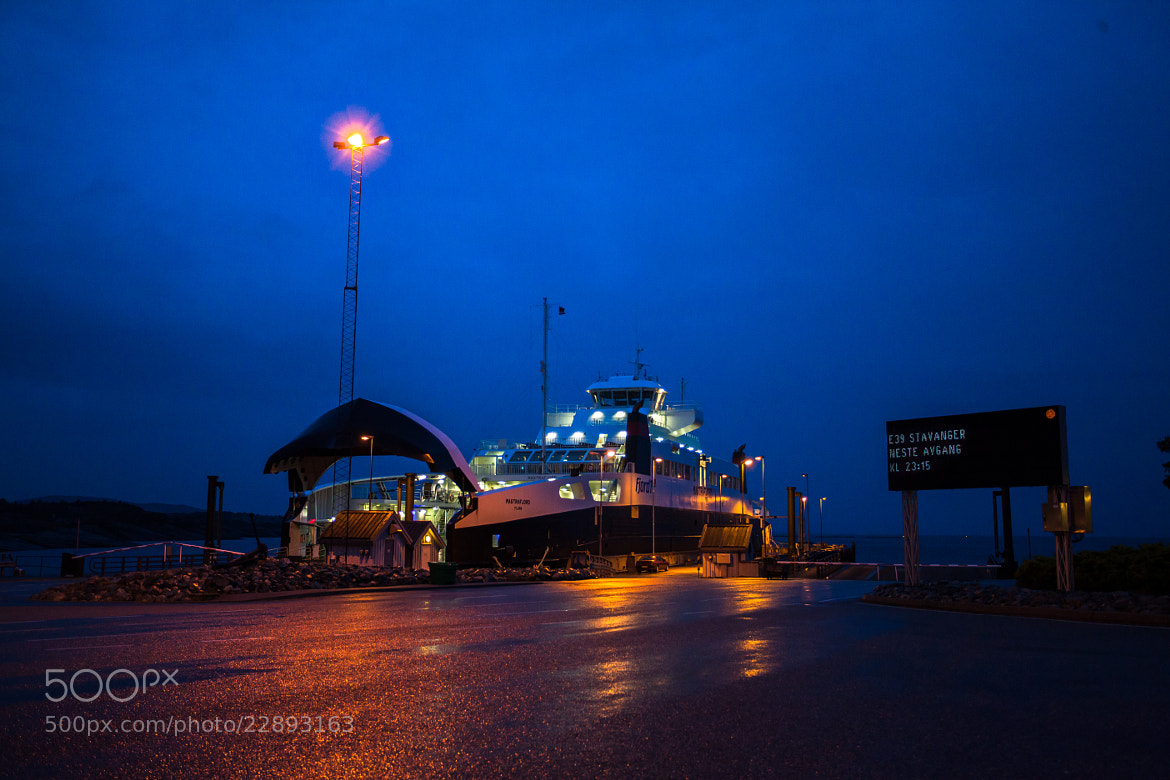 Photograph Ferry at night by Axel Lauer on 500px