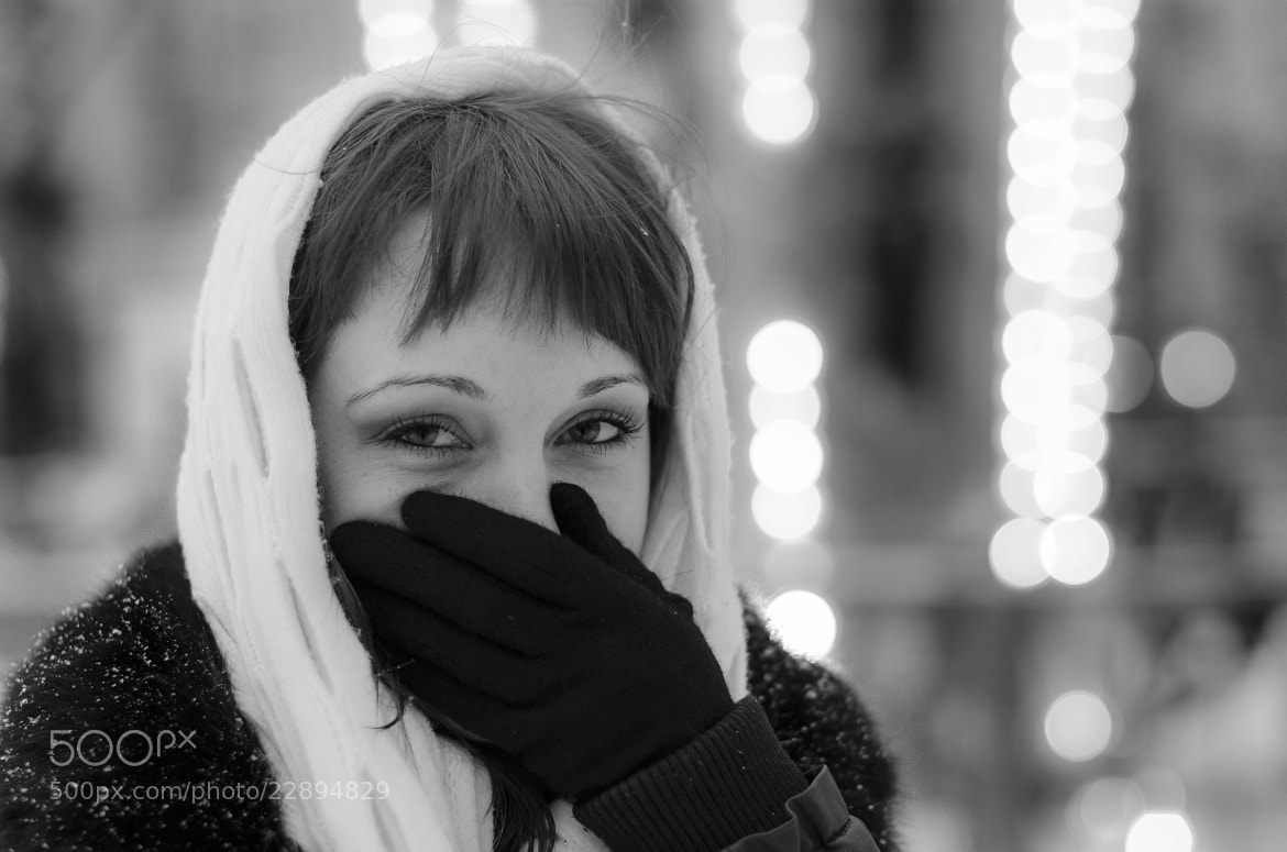 Photograph Laughing girl by Andrey Lobodin on 500px