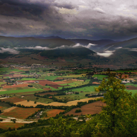 Norcia from the top