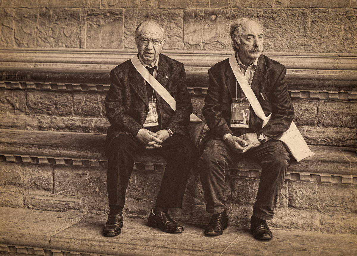 Photograph Two men sitting by Michael Avory on 500px