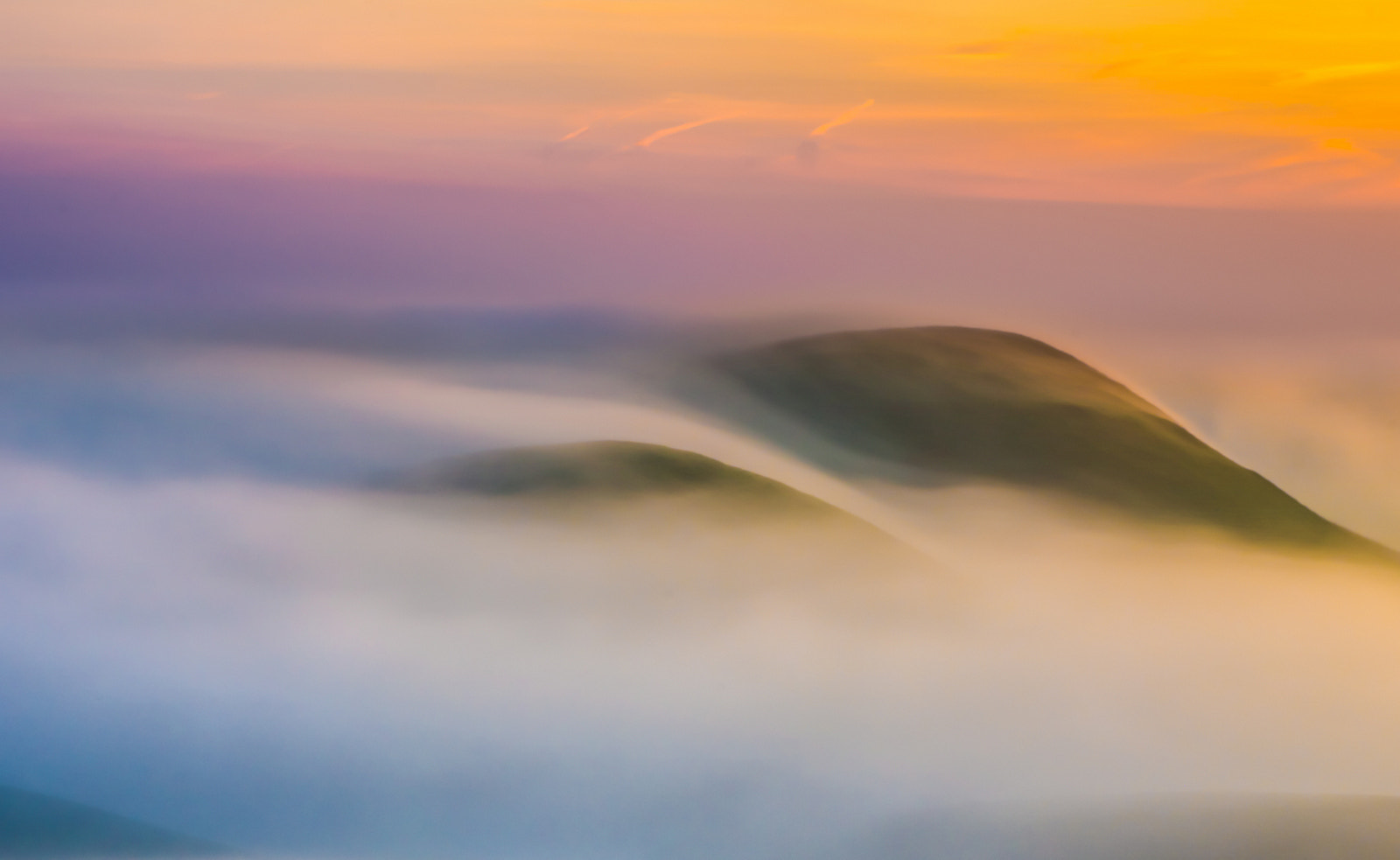 Photograph fog flow at sunrise by marc crumpler on 500px