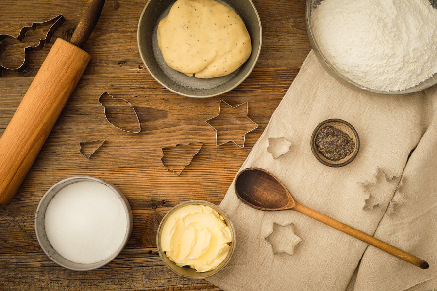 Basic baking ingredients by Elisabeth Coelfen on 500px.com