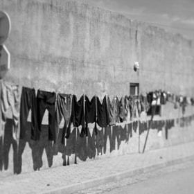 Urban exploration | Clothesline
