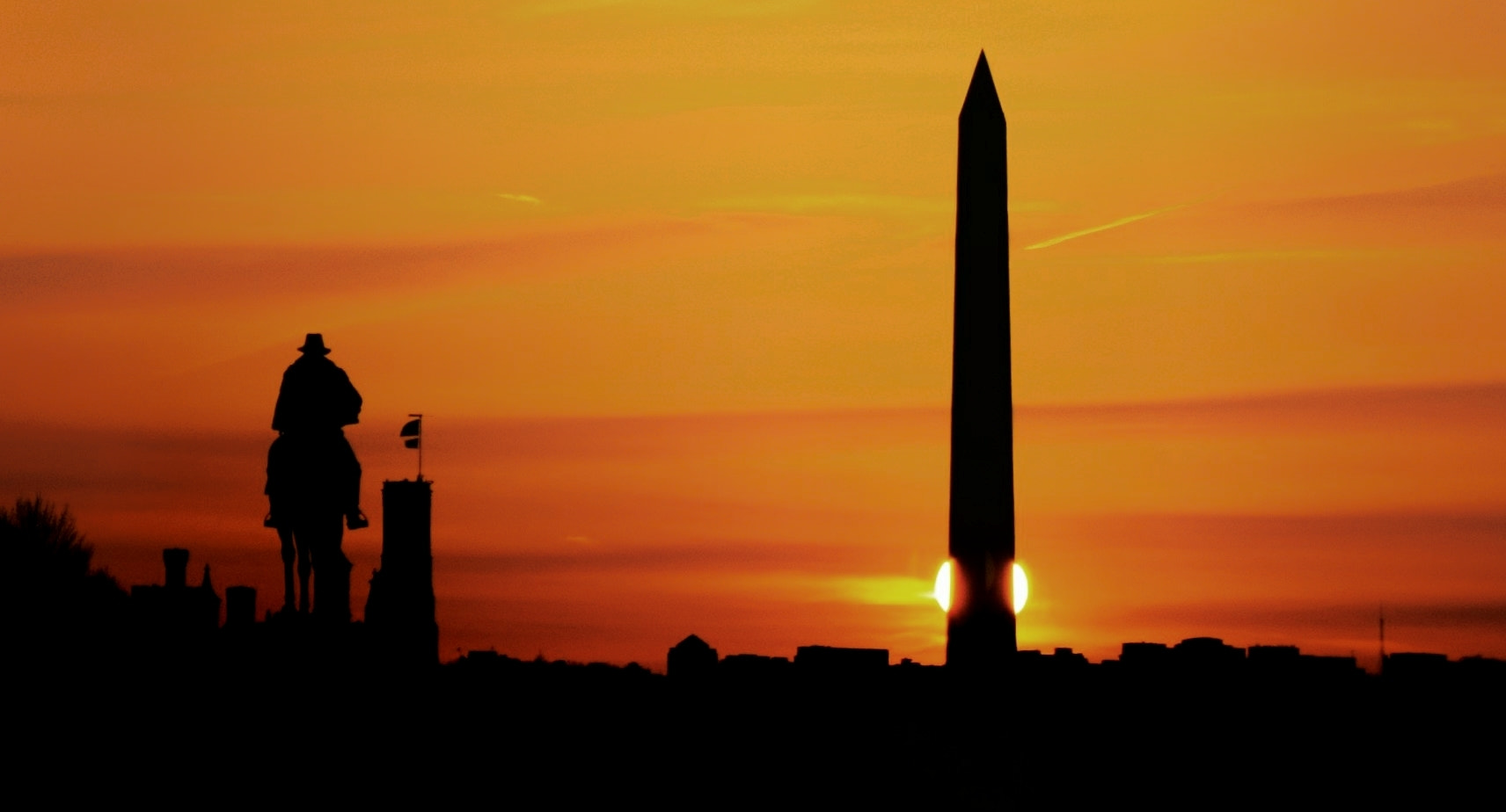 Photograph Washington D.C. Sunset by Jag Canape on 500px