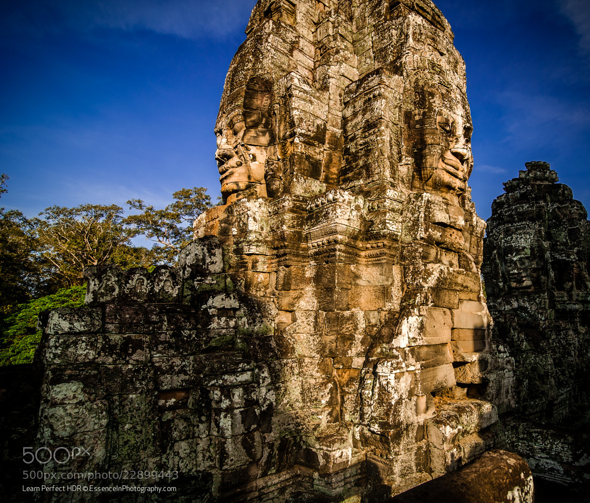 Photograph Stone Faces of Angkor Thom by Captain Photo on 500px