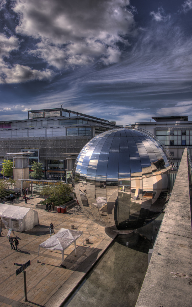 Photograph Big Silver Ball by Pete Griffiths on 500px