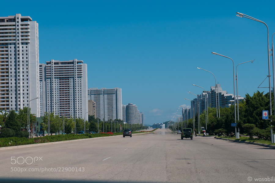 Photograph Highway in Pyongyang by Oliver Weibel on 500px