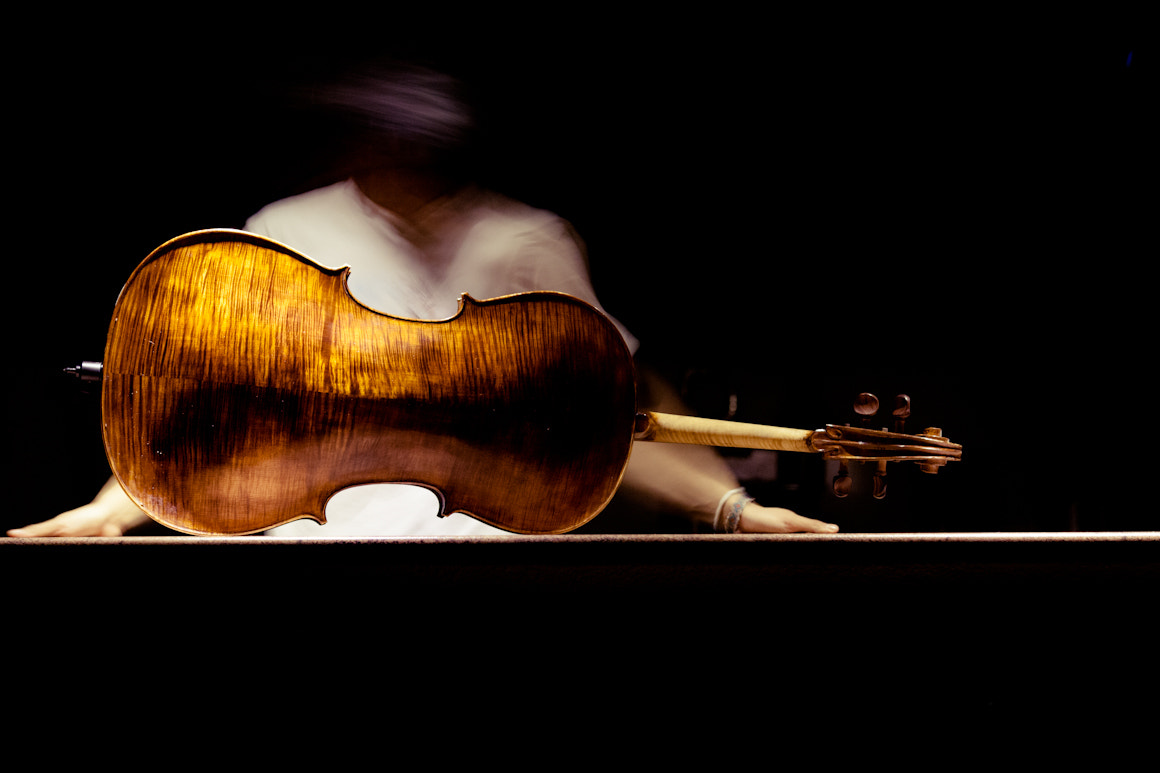 Photograph me and my beloved cello by sam berel on 500px