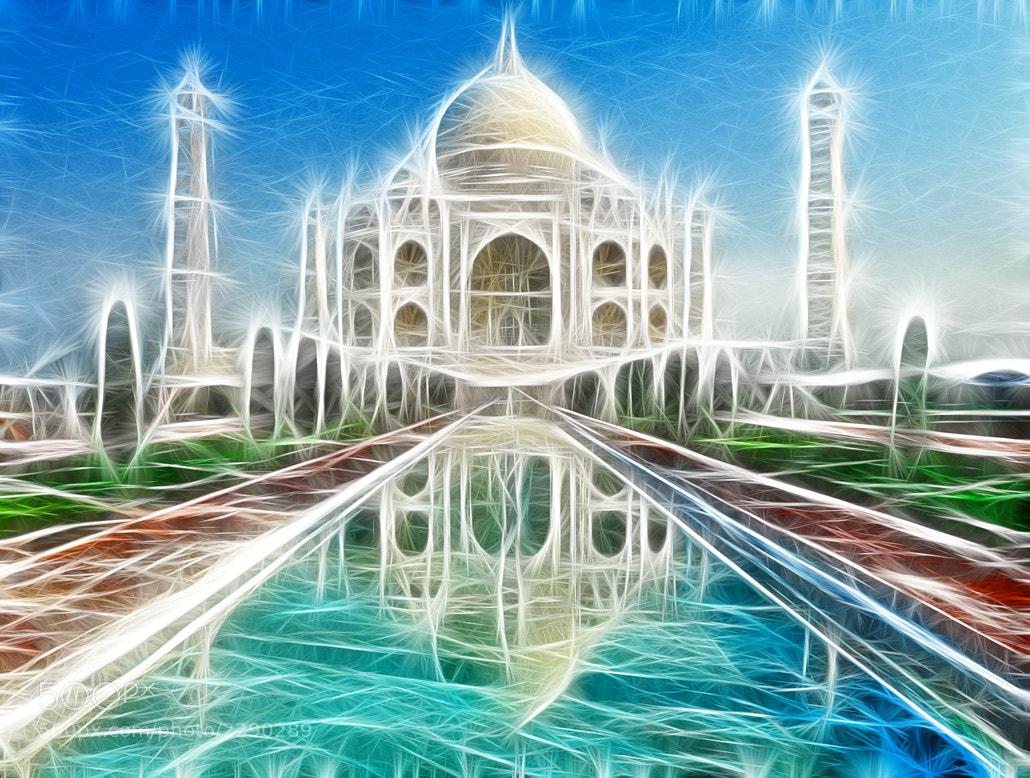 Photograph Fractal Taj Mahal by Devanshu  Jain on 500px