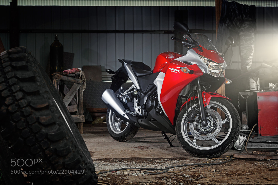 Photograph Honda CBR 250R by Alexey Sulima on 500px