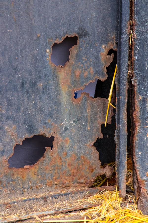 La porte rouillée (The rusty door) de Christine Druesne sur 500px.com