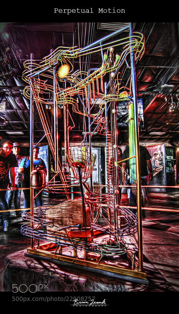 Photograph Perpetual Motion by Brian Frank HDR Snapshots on 500px