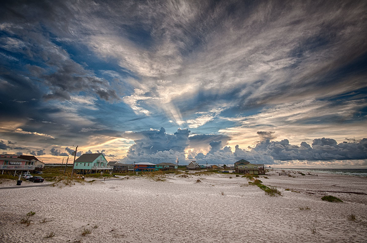 Photograph Clouds at the Beach by Don Noll on 500px