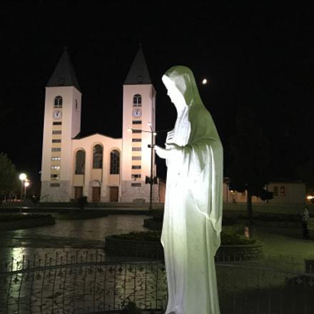 Mary with moon, Medjugorje Ago/Sett2017 - Zdravo Marijo - CIROPIERG