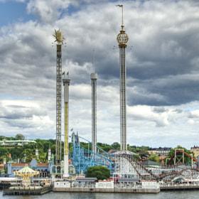 Photograph amusementPark by Lukas Bachschwell