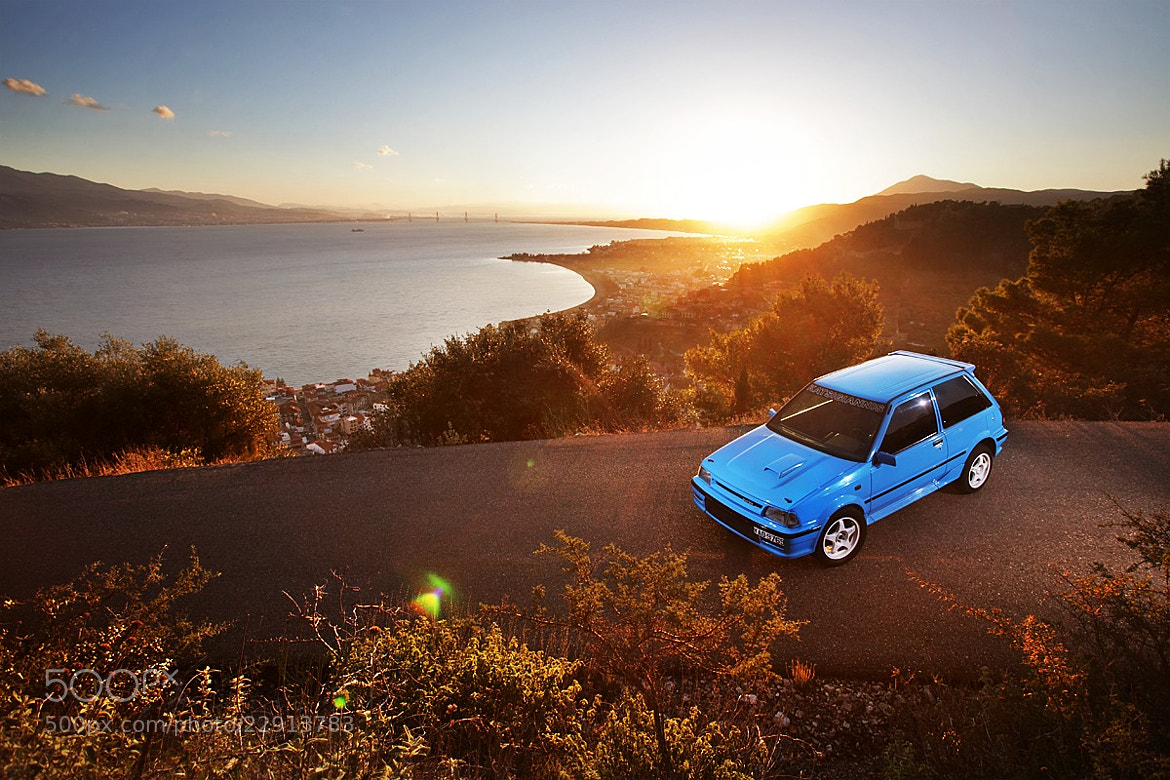 Photograph Toyota Starlet EP71 by Konstantinos Sidiras on 500px