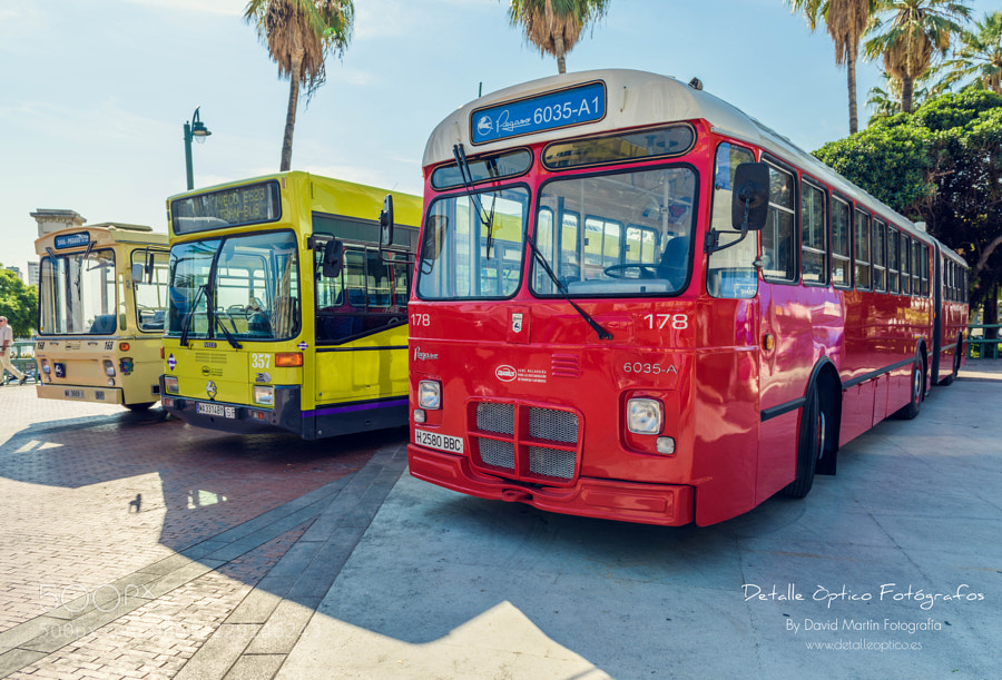 a cielo abierto encontramos la exposición de autobuses históricos ...