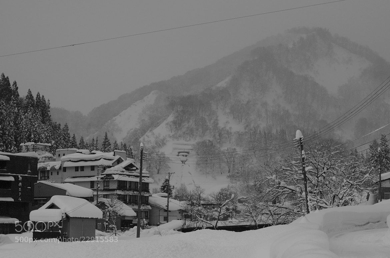 Photograph winter in the village by Sayaka Suzuki on 500px