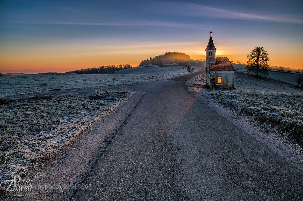 "Photograph ""Fire"" in the chapel by Peter Zajfrid on 500px"