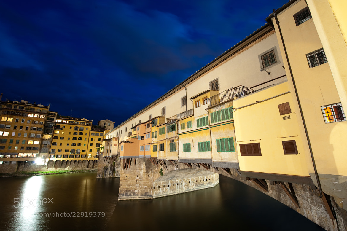 Photograph Ponte Vecchio by Joey Cerone on 500px
