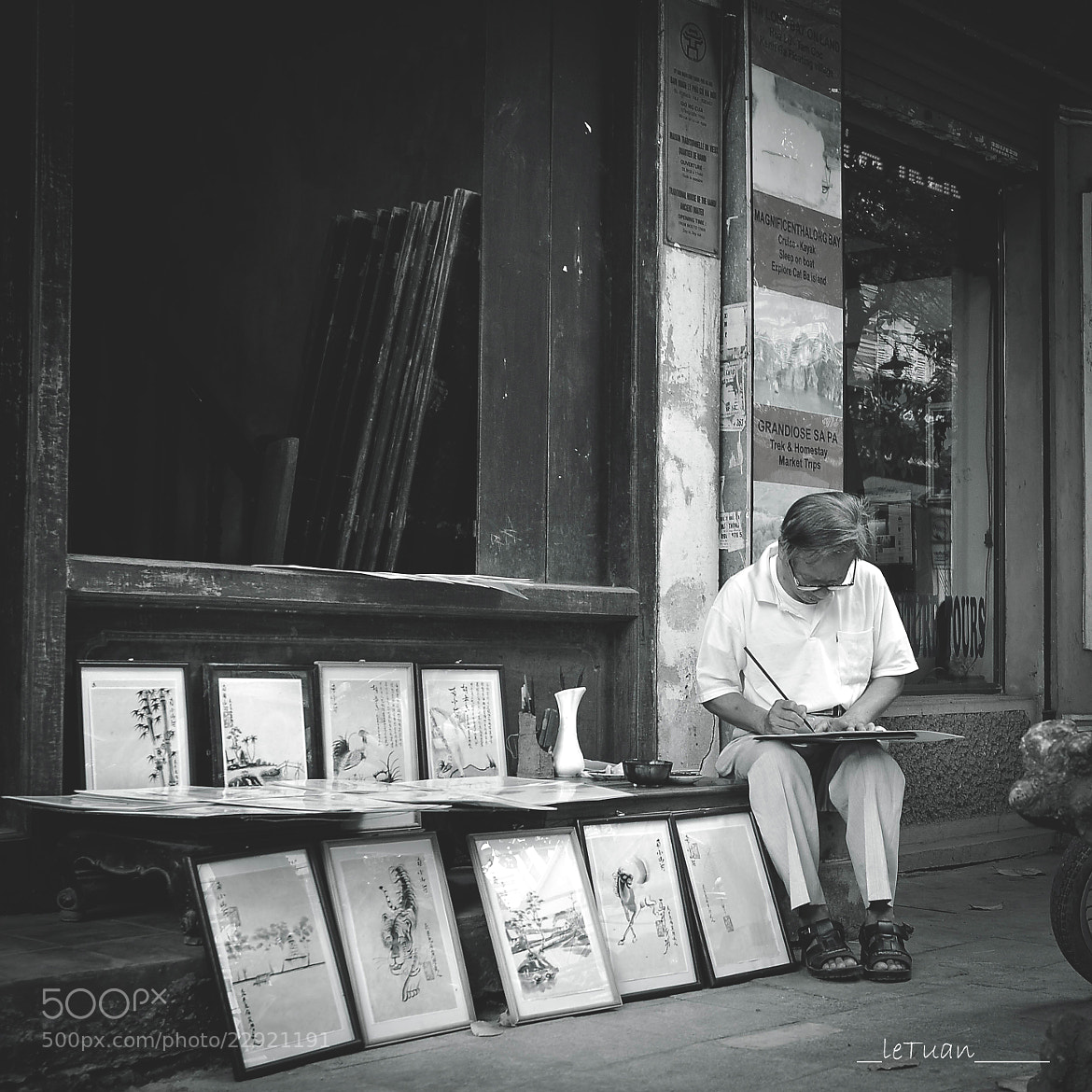 Photograph My Little Hanoi - The Artist by Le  Tuan on 500px