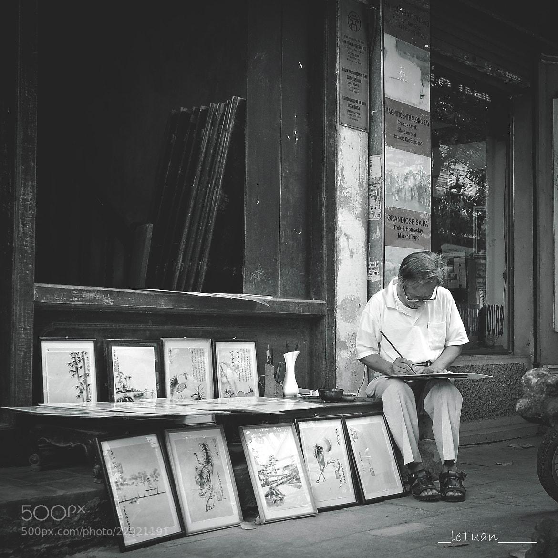Photograph My Little Hanoi - The Artist by Le  Tuan on 500px