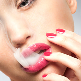 smoke girl by Vincent Xeridat (VincentXeridat)) on 500px.com